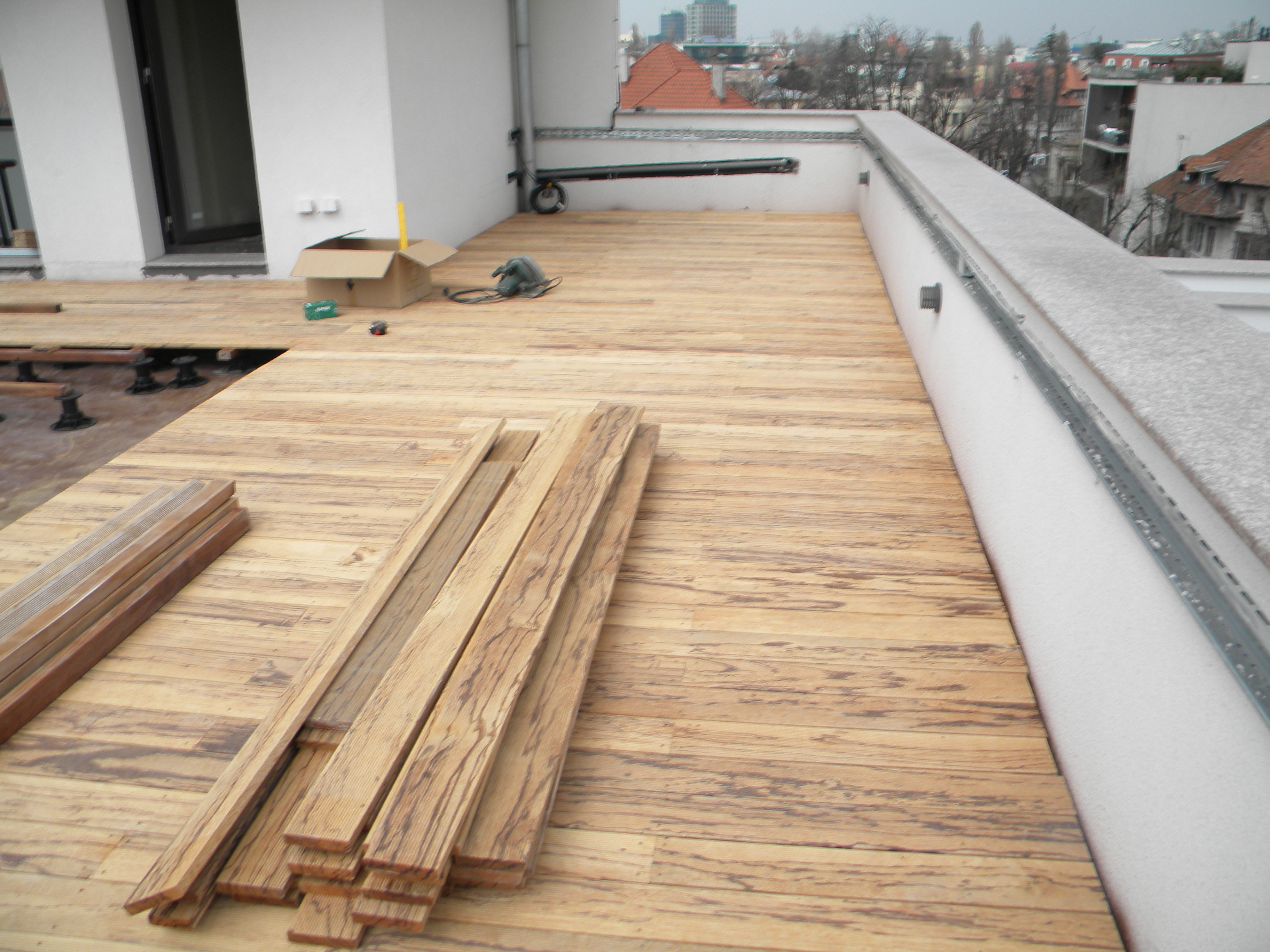 Deck-uri lemn - Angelim Rajado SELVA FLOORS - Poza 27