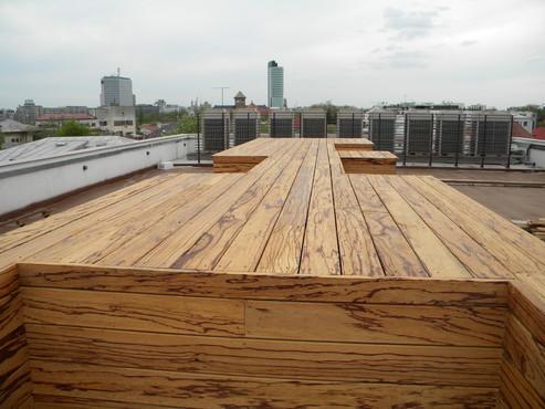 Deck-uri lemn - Angelim Rajado SELVA FLOORS - Poza 12