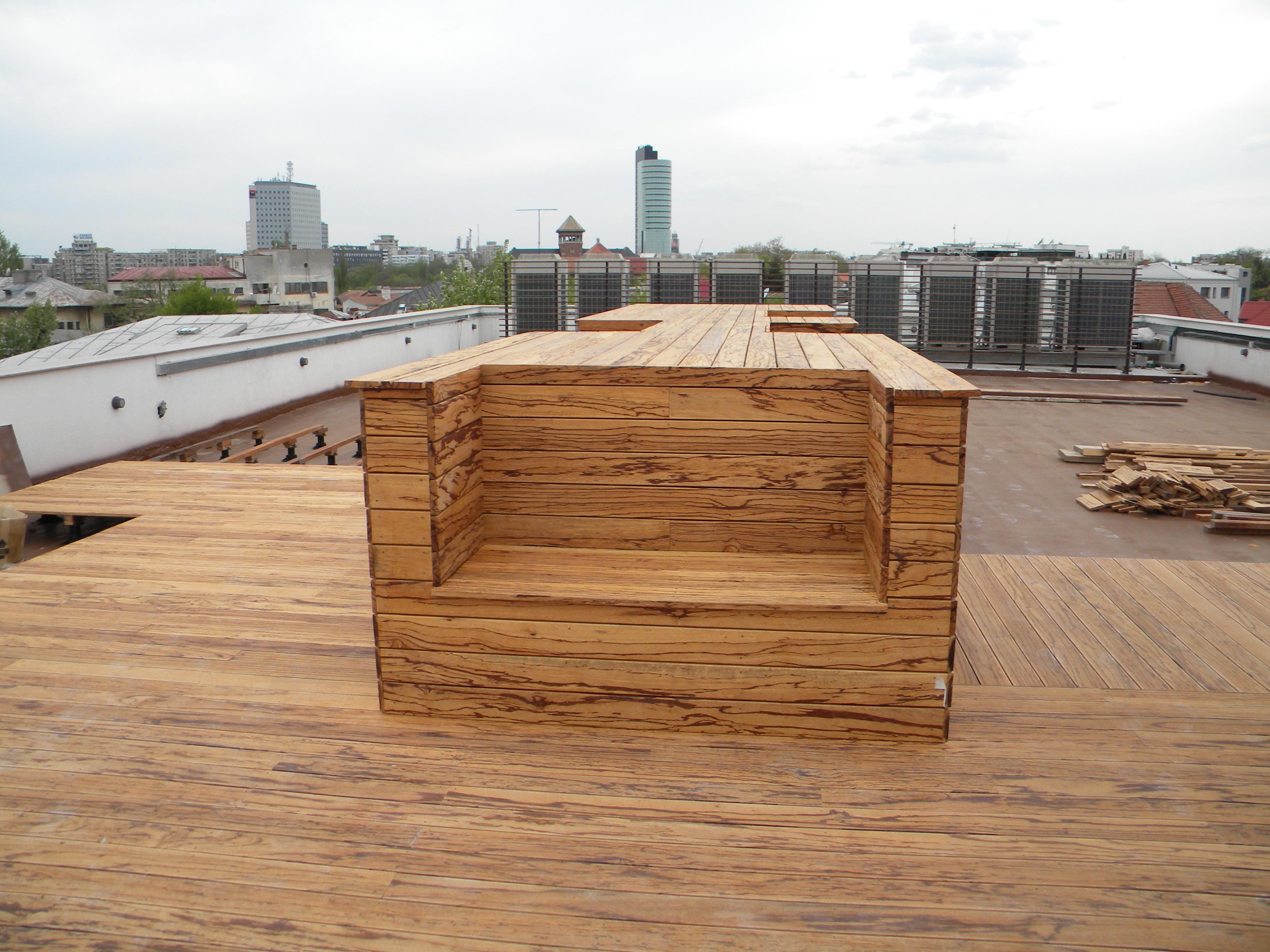Deck-uri lemn - Angelim Rajado SELVA FLOORS - Poza 11