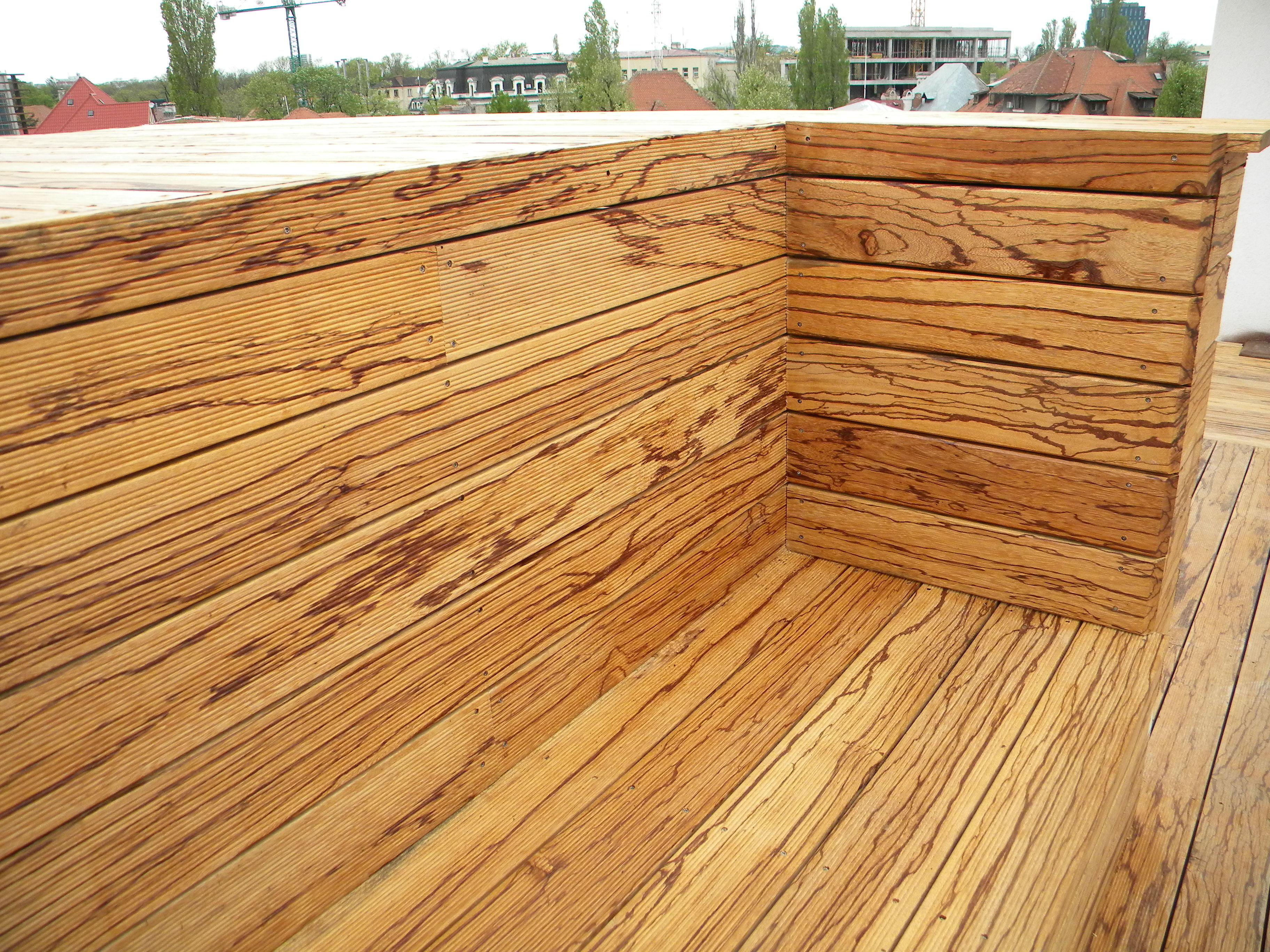 Deck-uri lemn - Angelim Rajado SELVA FLOORS - Poza 10