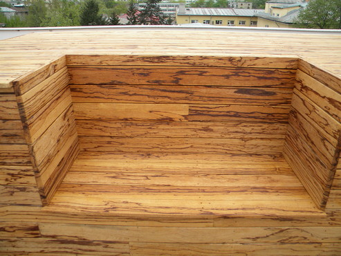 Deck-uri lemn - Angelim Rajado SELVA FLOORS - Poza 8