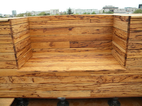 Deck-uri lemn - Angelim Rajado SELVA FLOORS - Poza 7