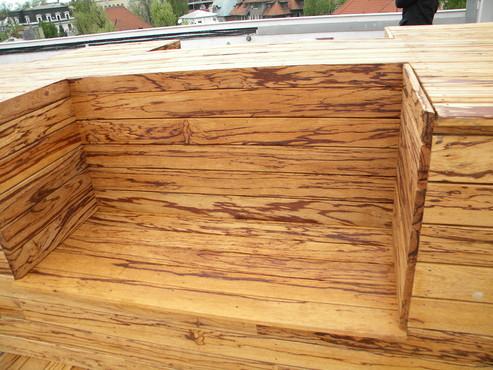 Deck-uri lemn - Angelim Rajado SELVA FLOORS - Poza 6