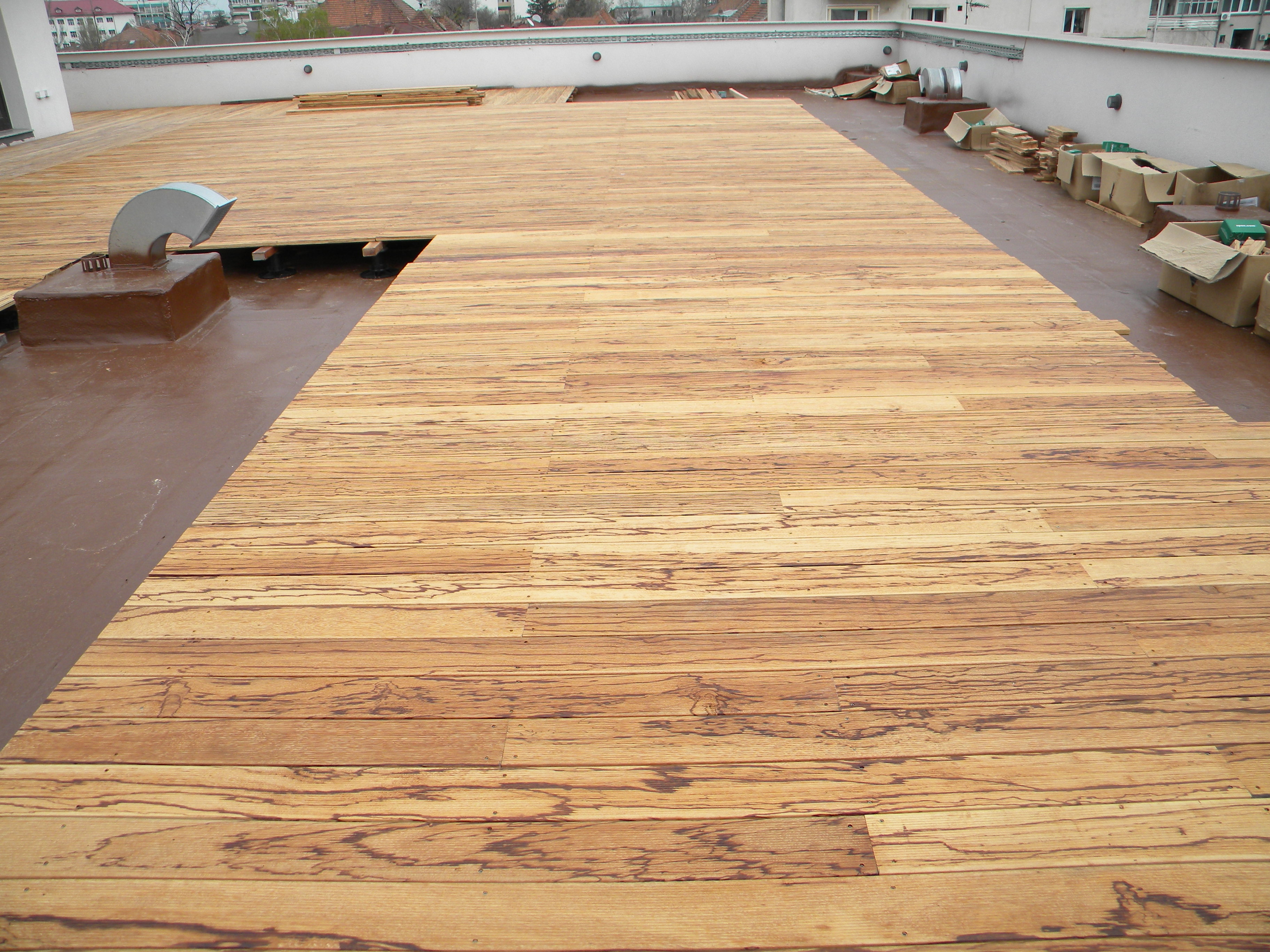 Deck-uri lemn - Angelim Rajado SELVA FLOORS - Poza 3