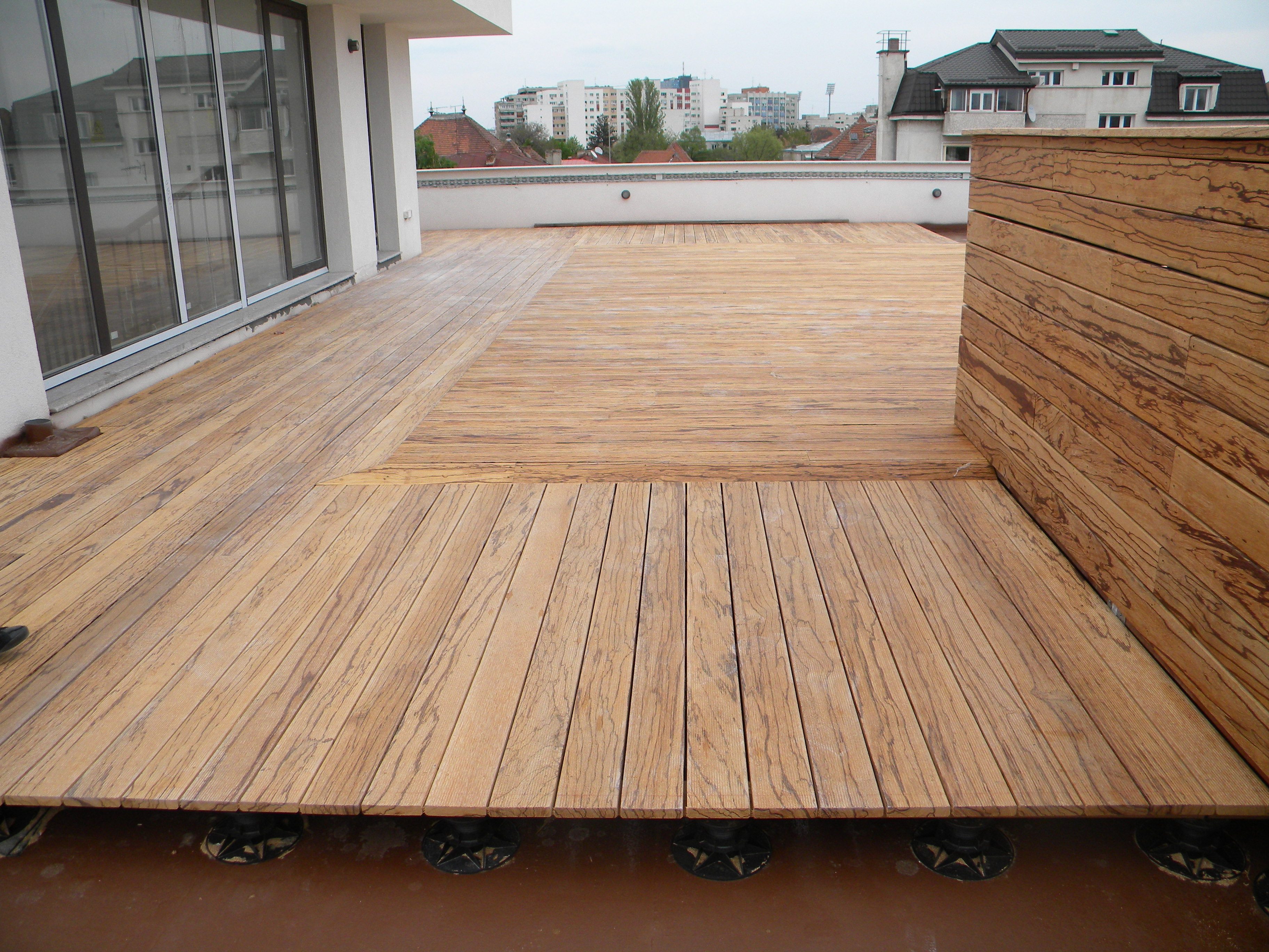 Deck-uri lemn - Angelim Rajado SELVA FLOORS - Poza 2