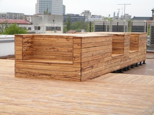 Deck-uri lemn - Angelim Rajado SELVA FLOORS - Poza 13