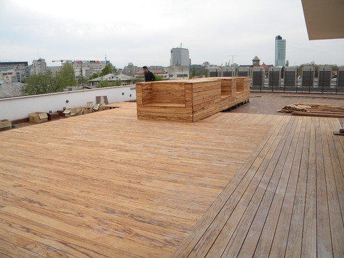 Deck-uri lemn - Angelim Rajado SELVA FLOORS - Poza 23