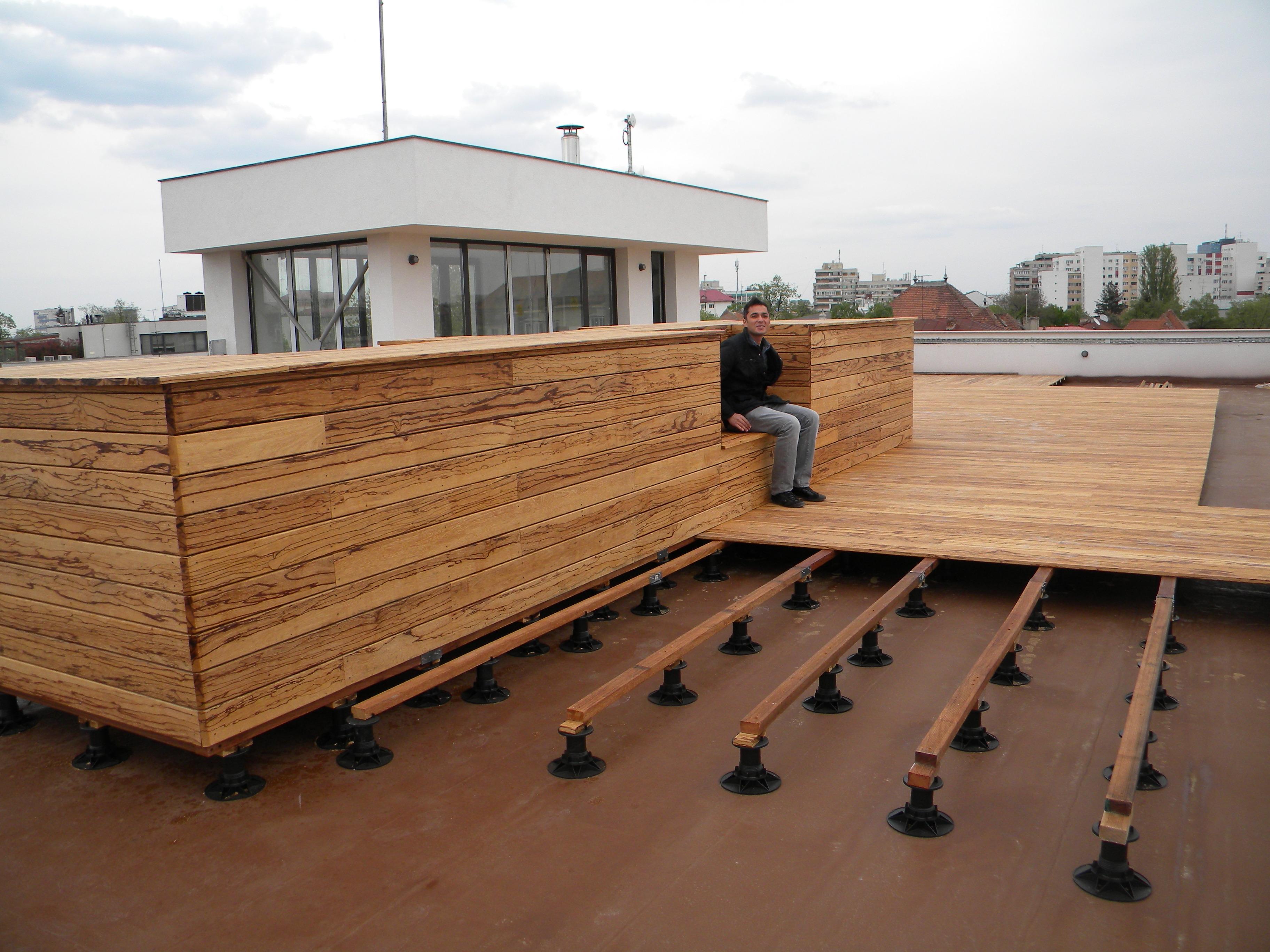 Deck-uri lemn - Angelim Rajado SELVA FLOORS - Poza 21