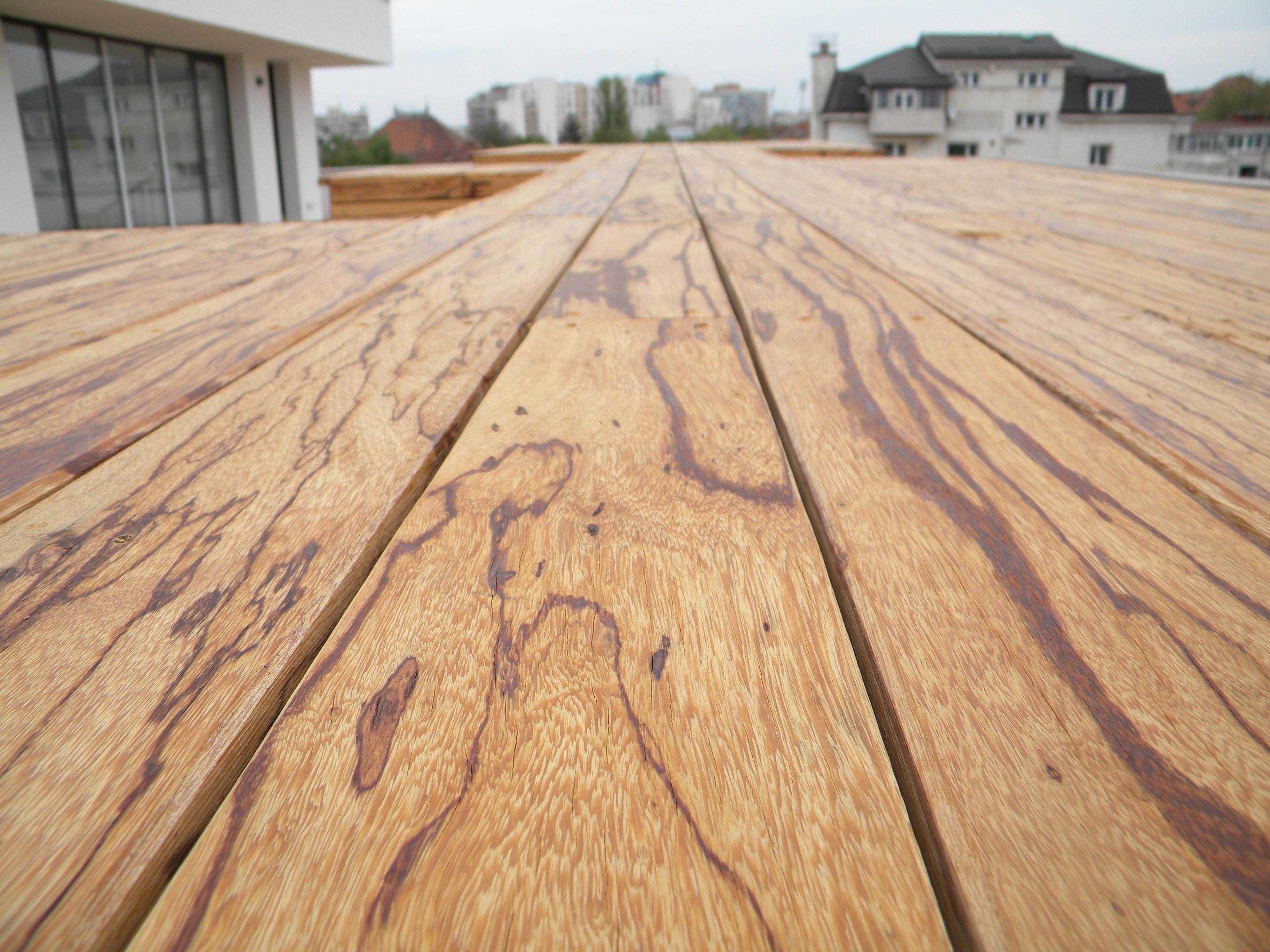 Deck-uri lemn - Angelim Rajado SELVA FLOORS - Poza 1