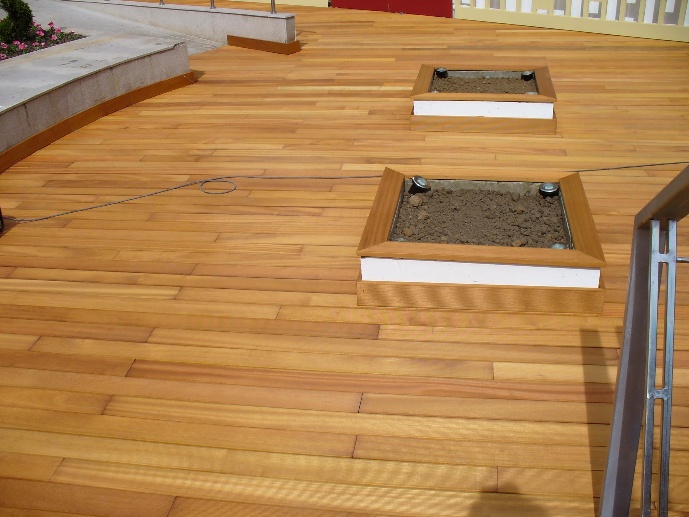 Deck-uri lemn - Guariuba SELVA FLOORS - Poza 25