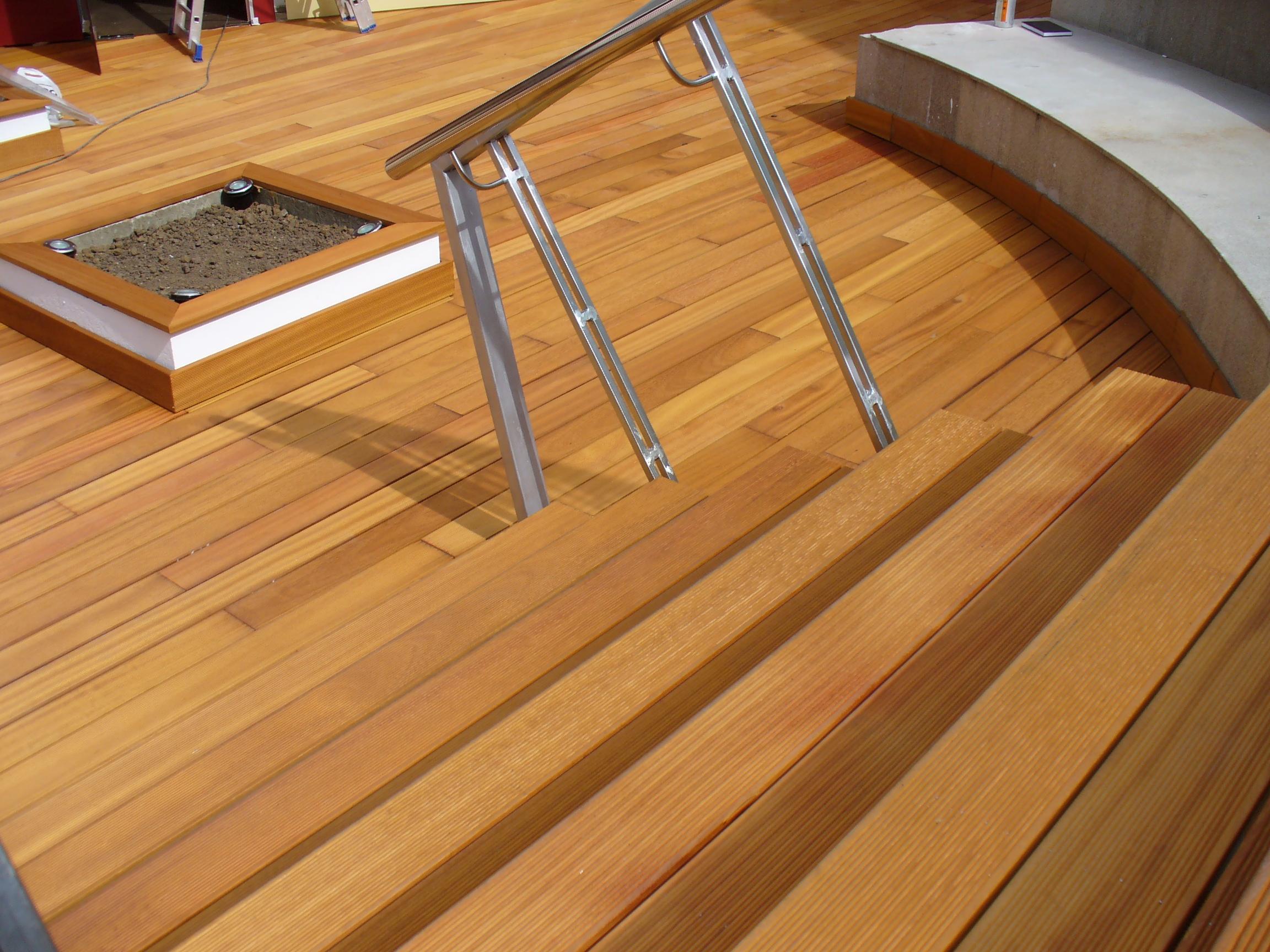 Deck-uri lemn - Guariuba SELVA FLOORS - Poza 43