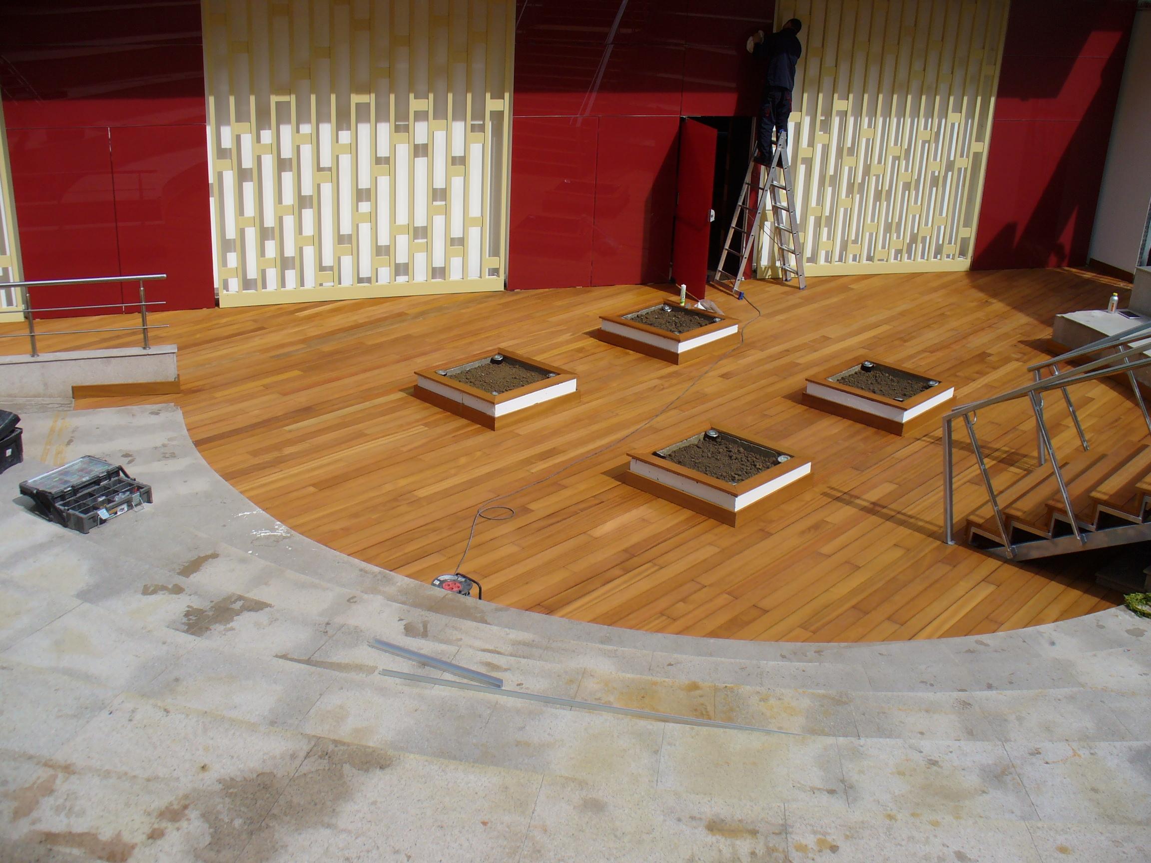 Deck-uri lemn - Guariuba SELVA FLOORS - Poza 1