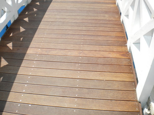 Deck-uri lemn - Sucupira Red