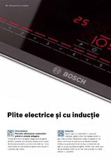 Plite incorporabile electrice si cu inductie BOSCH