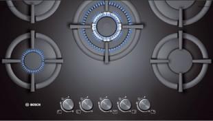 Plite electrice si pe gaz Plite cu gaz, plite cu inductie si plite electrice - BOSCH: Plite pe gaz - Arta  de a gati la indemana oricui; plite inox; plite cuart negru; plite cu  arzator WOK; plite domino; plite cu sistem FlameTronic; plite cu  suporturi din fonta. Plite cu inductie - Gatirea prin inductie este una din specialitatile Bosch,  fiind cea mai avansata metoda de gatit: rezistenta plitei genereaza un  camp magnetic, care la contactul cu vasul, este transformat in caldura. Plite electrice. Plite Domino - Noua tehnologie modulara pentru solutii flexibile.
