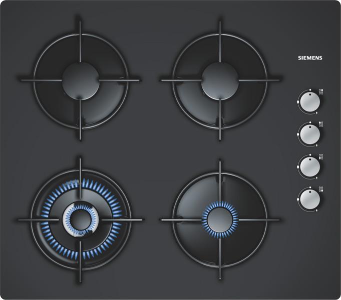 Plite incorporabile cu gaz SIEMENS - Poza 1