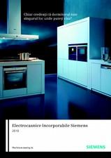 Catalog general - Electrocasnice incorporabile SIEMENS