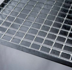 Gratare metalice presate, pline, electroforjate din otel inoxidabil si tabla profilata MEA