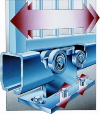 Exemple de utilizare Role pentru porti glisante MEA - Poza 4