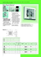 Aspiratoare elicoidale pentru evacuare direct in exterior sau in canale scurte VORTICE
