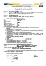 Declaratie de conformitate EC KIPOR