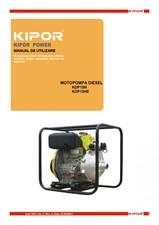 Motopompa cu presiune mare KIPOR