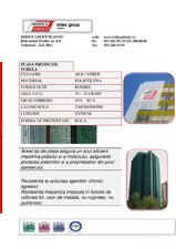 Plasa protectie schela IRIDEX GROUP PLASTIC