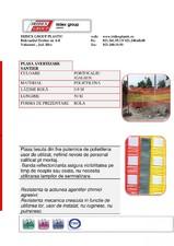Plasa avertizare 0.9x50 IRIDEX GROUP PLASTIC