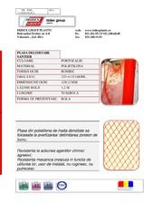 Plasa avertizare 1.2x50 IRIDEX GROUP PLASTIC