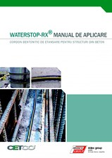 Membrana bentonitica pentru hidroizolarea fundatiilor - Waterstop-RX CETCO