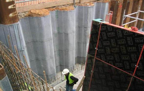 Membrana bentonitica pentru hidroizolarea fundatiilor CETCO - Poza 13