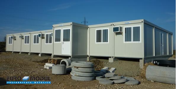 Containere pentru organizari de santier EURO MODUL - Poza 1