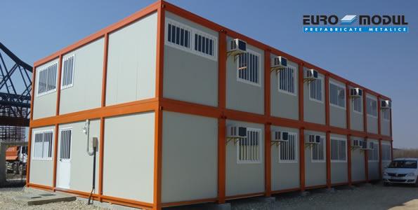 Containere pentru organizari de santier EURO MODUL - Poza 2
