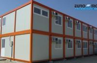 Containere multifunctionale metalice pentru organizari de santiere, birouri, vestiare EURO MODUL