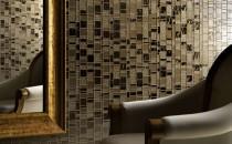 Mozaic TREND - Mozaicul se remarca prin combinatii de dimensiuni si culori propunand noi tendinte. Trecut si viitor, traditie si tehnologie,TREND imbina arta si clasicul, aducand noi oportunitati materialelor. LIBERTY - Este o colectie moderna artizanata, din sticla si insertii de metal cu diferente de tonalitate. Foarte stralucitoare ce prezinta un stil unic de mozaic. ARTISTIC DESIGN - Mozaic grafic in format 2x2 cm si 1,5x1,5 cm. GOLD COLLECTION - Mozaic din sticla, lucrat manual cu o foita de aur de 24 carate. MY PASSIONE si AQUATICA.