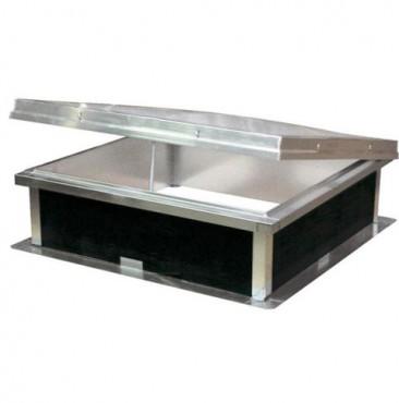 Prezentare produs Cupolete pentru acoperisuri cu membrana (PVC/bitum) HEXADOME - Poza 1