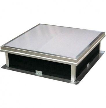 Cupolete pentru acoperisuri cu membrana (PVC/bitum) HEXADOME - Poza 2