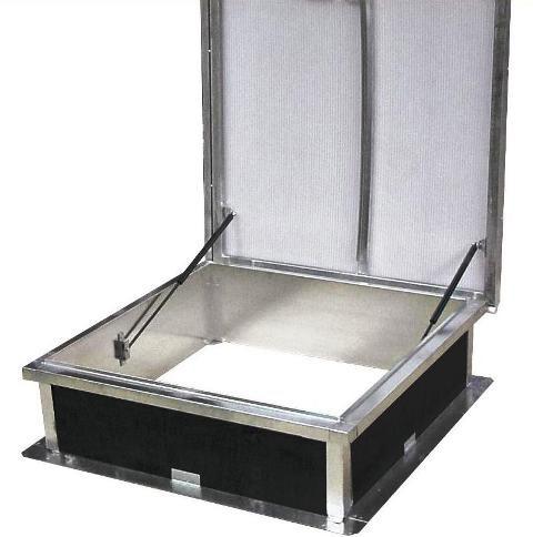 Cupolete pentru acoperisuri cu membrana (PVC/bitum) HEXADOME - Poza 3