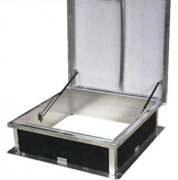 Prezentare produs Cupolete pentru acoperisuri cu membrana (PVC/bitum) HEXADOME - Poza 3
