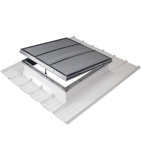 Cupolete pentru acoperisuri cu panouri sandwich HEXADOME - Poza 1
