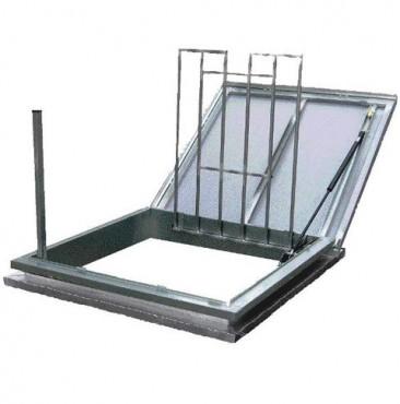 Trape de acces pe acoperis cu functie de evacuare fum  HEXADOME - Poza 3