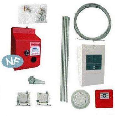 Accesorii Sisteme de comanda/control pentru actionarea manuala a trapelor de fum HEXADOME - Poza 1
