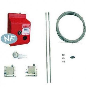 Sisteme de comanda/control pentru actionarea manuala a trapelor de fum HEXADOME - Poza 2