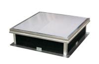 Trape de fum pentru acoperisuri cu membrana PVC, bitum  HEXADOME