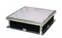 Trape de fum pentru acoperisuri cu membrana PVC, bitum  Sistemele HEXADOME cu montaj pe acoperisul cladirilor au rolul de: evacuare fum si gaze fierbinti; ventilatie jurnaliera, iluminat natural.
