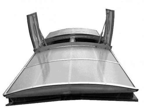 Prezentare produs Luminatoare industriale HEXADOME - Poza 2