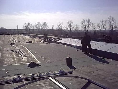 Lucrari, proiecte Luminatoare industriale - Depozit Glina HEXADOME - Poza 1