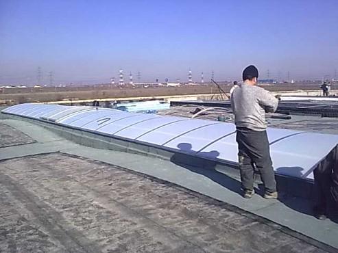 Lucrari, proiecte Luminatoare industriale - Depozit Glina HEXADOME - Poza 3