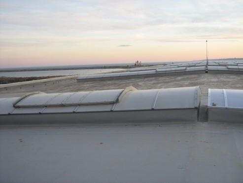 Lucrari, proiecte Luminatoare industriale - Depozit Kronospan - Agigea HEXADOME - Poza 4