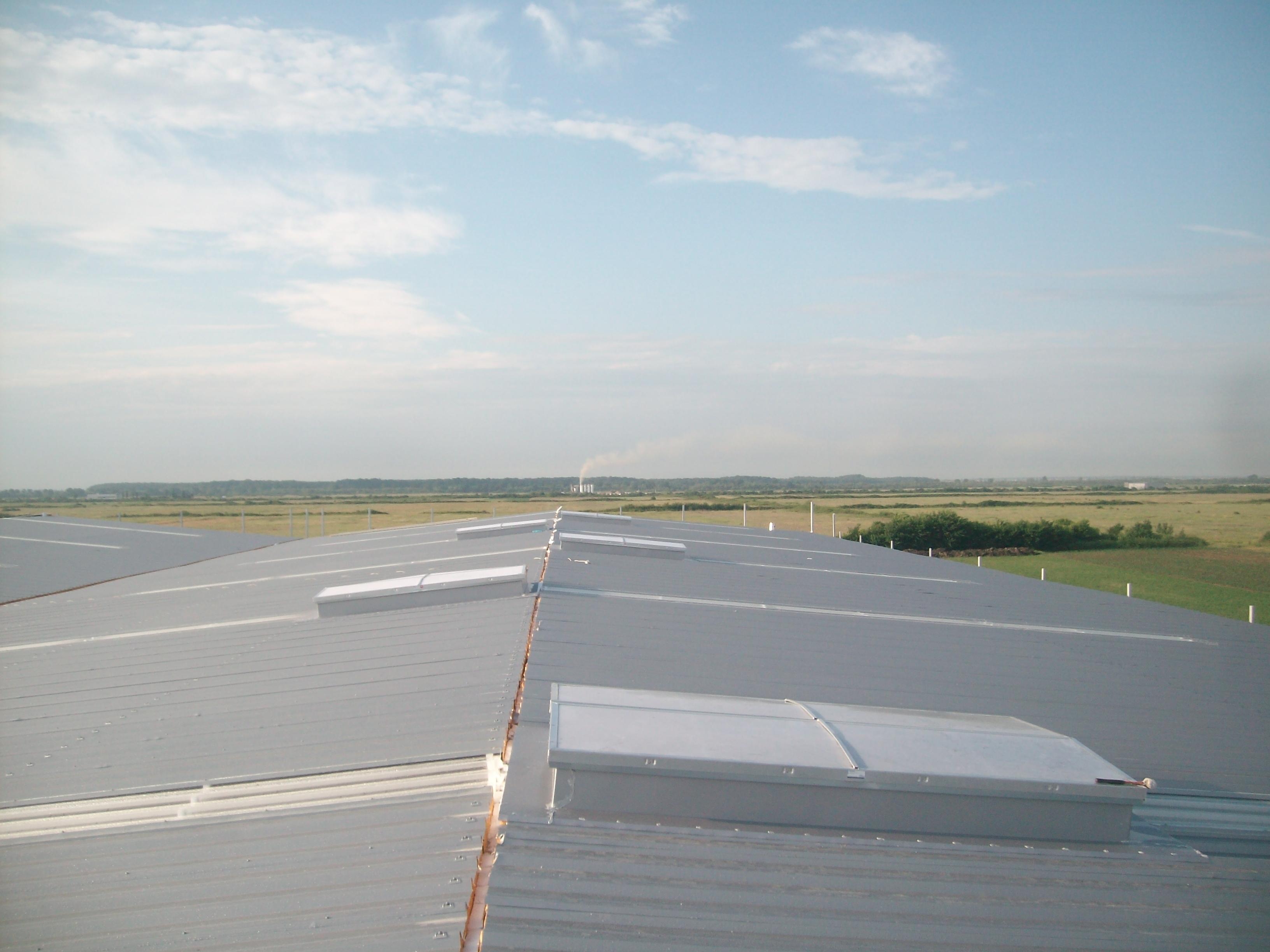Luminatoare industriale - Depozit Eurorent - Timis HEXADOME - Poza 1